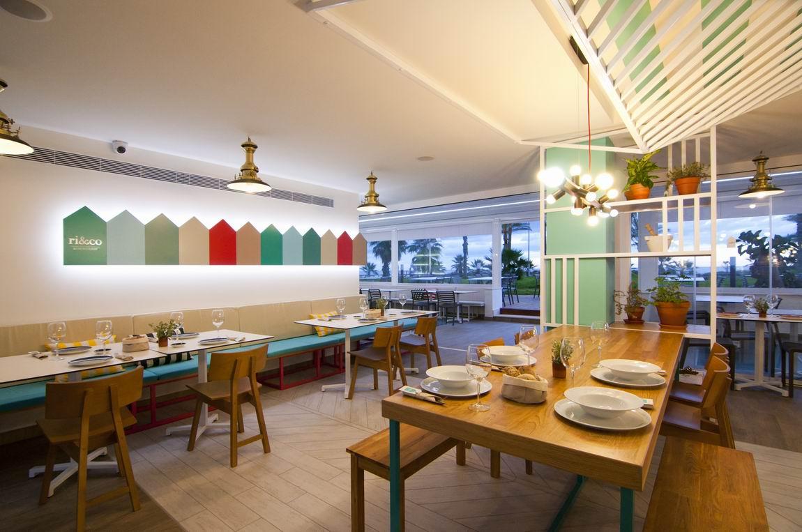 Interiorismo restaurante ri&co alt